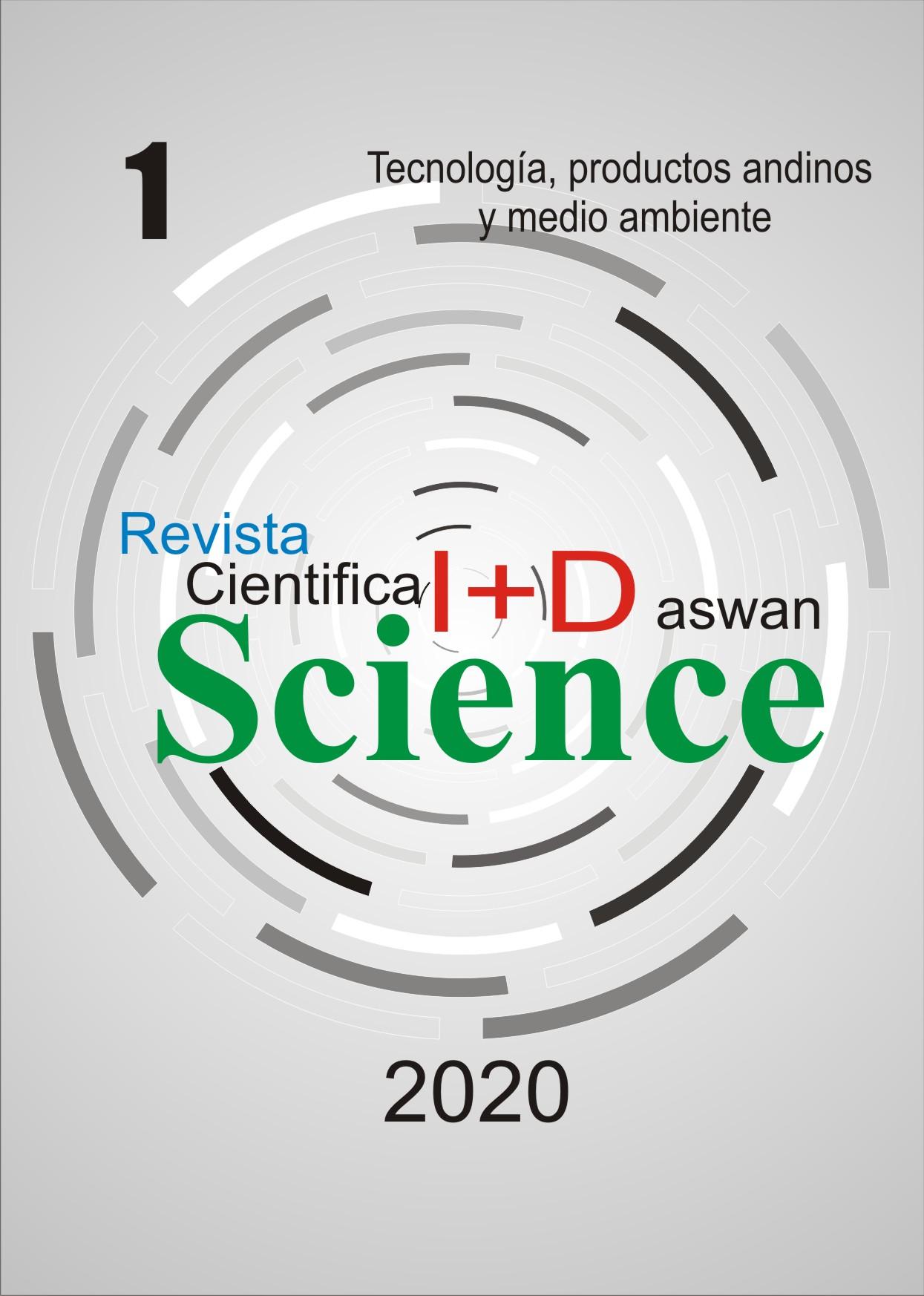 Ver Vol. 1 Núm. 1 (2020): Tecnología, productos andinos y medio ambiente